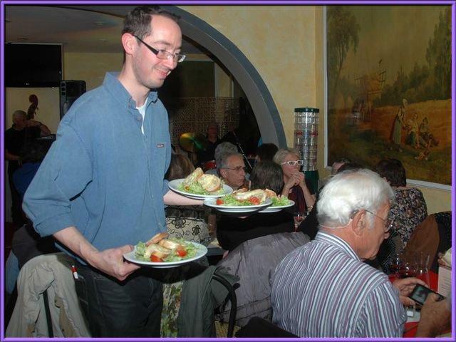 Mon village web bar restaurant la premi re fois 42480 la for Restaurant la talaudiere
